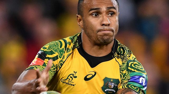 Big budget recruit: Wallabies halfback Will Genia.