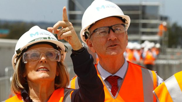 Greater Sydney Commission chief Lucy Turnbull released the draft Greater Sydney Region Plan during a media event in ...