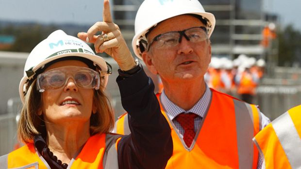 Greater Sydney Commission chief Lucy Turnbull released the draft Greater Sydney Region Plan at a media event in Sydney ...