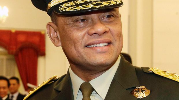 Indonesian Armed Forces Chief General Gatot Nurmantyo had been invited to a countering violent extremism conference in ...