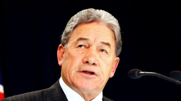 New Zealand First leader Winston Peters. Peters backed the Labour Party to form a coalition government.