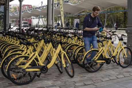 Ofo has 10 million bikes in 18 countries, and will be bringing hundreds more to Sydney this week.