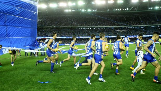 North Melbourne are one of the clubs taking on the AFL over the deal with Etihad Stadium.