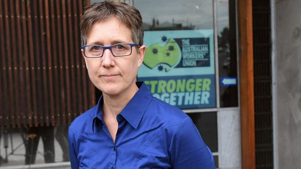 ACTU secretary Sally McManus says bills before federal Parliament are anti-democratic and designed to drive down wages ...