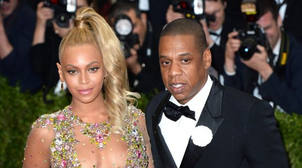 Jay-Z lets paps snap him in elevator with Beyonce