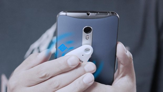 Wireless keys work with your mobile phone via Bluetooth, and NFC for Android.