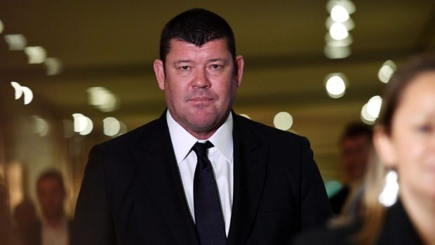 There is no suggestion of wrongdoing by James Packer, who was interviewed in a witness capacity by the AFP.