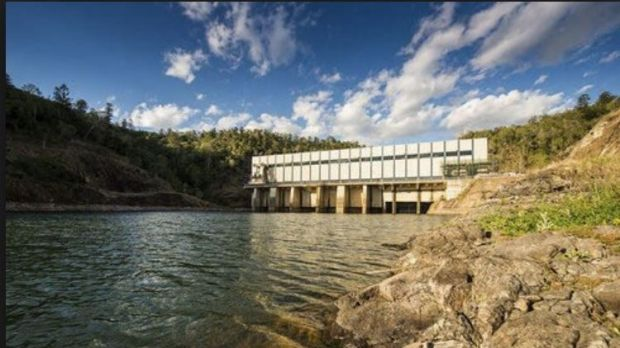 The pumped hydro plants at Kidston, near the Townsville and Wivenhoe Dam, which could provide up to eight hours of 2000 ...