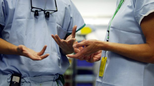 The state government is aiming to fulfill its election commitment of protecting health workers.