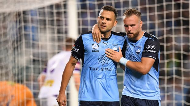 A league sydney fc beat perth glory despite farcical var for Farcical humour in joseph andrews