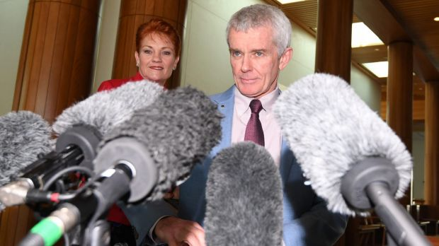 One Nation's Malcolm Roberts found there were no grey areas in the dual citizenship fiasco.