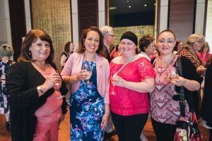 Ivonne Thomson, of Macgregor, Luisa Parton, of Bonython, Sandy Renkema, of Kambah, and Ruth Poveda, of Bonython