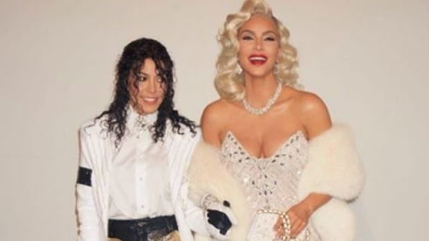 Kim Kardashian and Amal Clooney win Halloween as celebrities step out in style