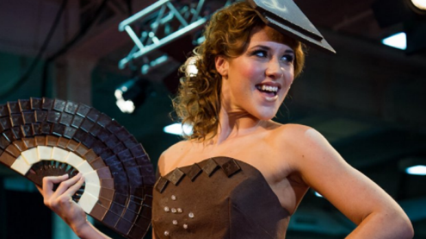 These incredible chocolate couture dresses have to be seen to be believed
