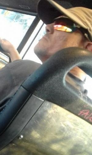Police want to talk to this man after he allegedly exposed himself to a young woman on a bus from Tarneit to Hoppers ...
