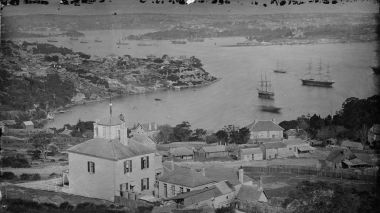 Holtermann's three giant images of Sydney Harbour from 1875 capture the harbour at the time. The glass negative plates,  ...