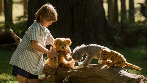 Christopher Robin and friends.
