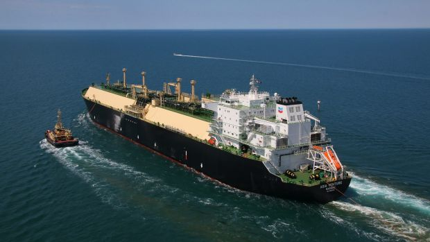 The first Chevron Wheatstone LNG cargo departs for Japan.