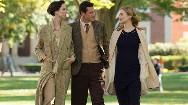 Wonder Woman originated in the passionate relationship between Elizabeth Marston (left), William Marston and Olive Byrne.