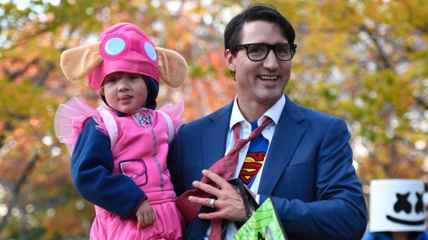 Nobody noticed what Justin Trudeau's son wore to Halloween. And that's worth celebrating.