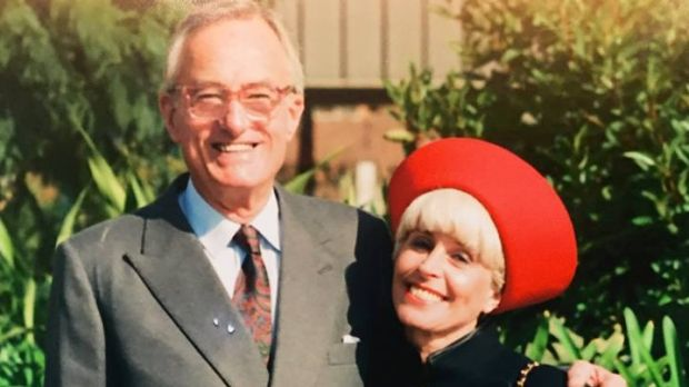 Victim Charles Skarratt with his wife, Monica.