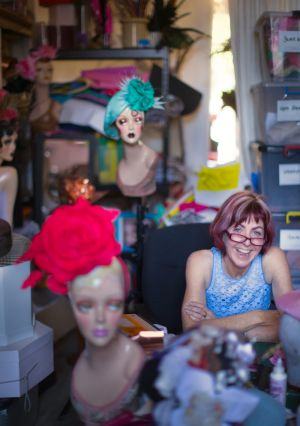 Kim Fletcher says becoming a milliner was accidental.