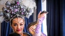 Spring Racing Carnival Flemington Birdcage marquees preview. 2 November 2017. The Age News. Photo: Eddie Jim. Ruby ...