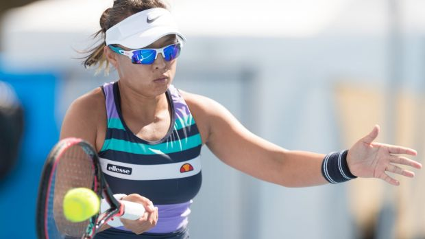 Canberra tennis player Alison Bai is gunning for her first Australian Open singles berth at the wildcard play-off.
