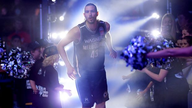 Lighting it up: Melbourne United's Chris Goulding. AFL clubs are considering launching teams in the NBL.