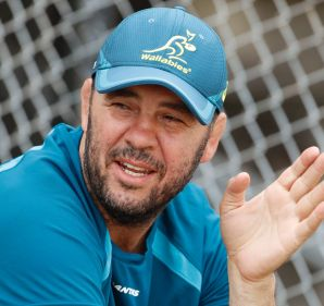 Focused: Wallabies coach Michael Cheika has concerns over English tactics.