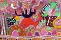 "kangaroo3 Michael Leunig illustration ART ARTWORK Australia Day. Colourful Aboriginal images. Based on ""Ngurra"", ..."