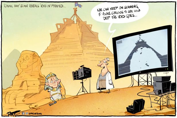 The Canberra Times editorial cartoon for Monday, November 6, 2017.
