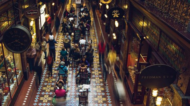 Under the deal, Vicinity will assume management of the QVB, The Strand Arcade and The Galeries at 2 Park Street, while ...