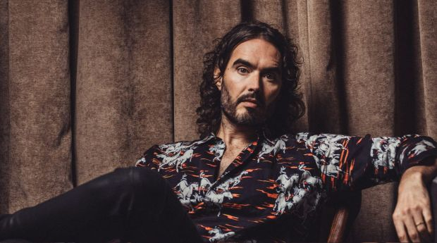 Russell Brand: the 12 steps saved him.