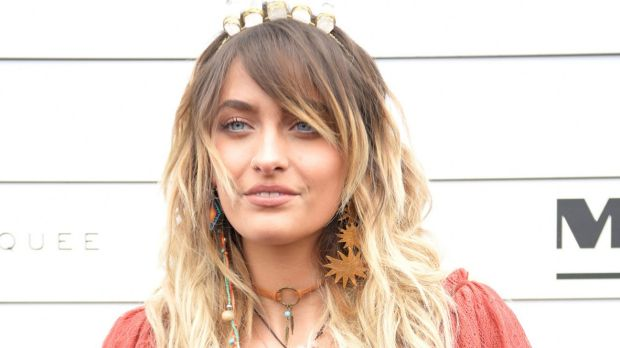 Paris Jackson at the Myer marquee on Melbourne Cup Day.
