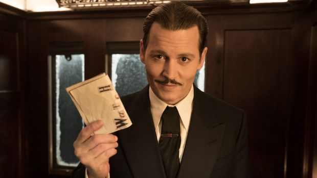 Even Johnny Depp has a moment of sympathy in <i>Murder on the Orient Express</i>.