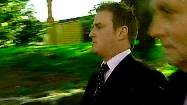 Former Channel Seven reporter Dylan Howard after being questioned by Victorian police in 2007.