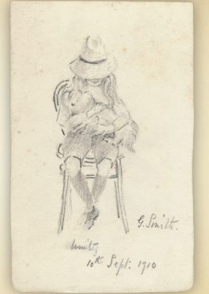 Drawing by Grace Cossington Smith. From Signed by Hand.