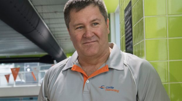 Dave DuBois is the swim program curriculum manager at Carlile Swimming in Five Dock.