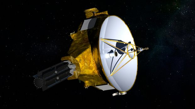 NASA's New Horizons spacecraft has been sailing through the cold void of space for more than a decade.
