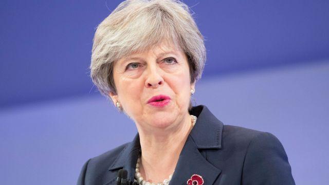 Theresa May, British Prime Minister