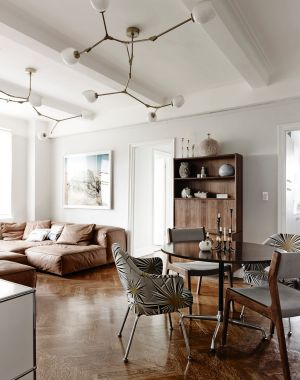 STYLING TIP: The Branching Bubble light works equally in a traditional home with cornice detail, a spare, architectural ...