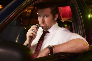 Patrick Brammall as Detective Nick Cullen in the US remake of Australian comedy No Activity.