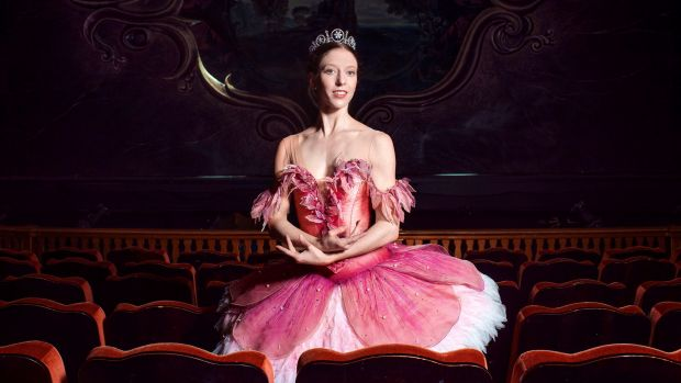 Principal artists Lana Jones dances Aurora in The Sleeping Beauty at the Capitol Theatre from November 11 to 25.