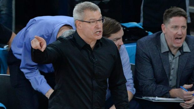 Offensive rebounds is a key focus for United coach Dean Vickerman.