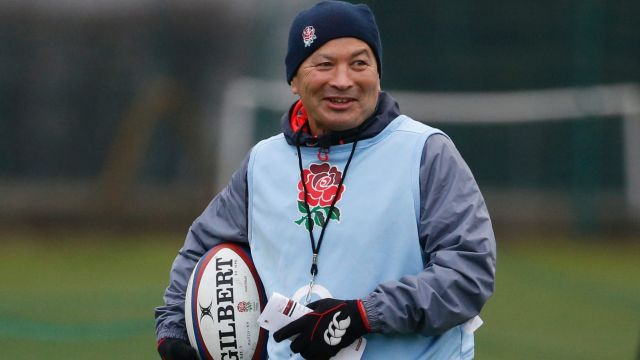 """I'm delighted to extend, it's quite exciting"": Eddie Jones."