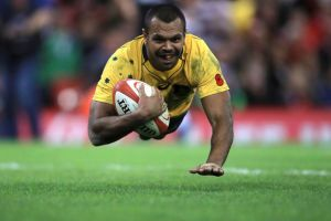 Kurtley Beale, whom Wallabies assitant coach Stephen Larkham says is in great form, will once again direct operations ...