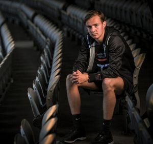 Ex-tennis prodigy Jackson Ross was attracted to the team aspects of footy