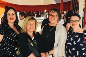 Susan Hammond of Evatt, Michelle Van Puyvelde of Jerrabomberra, Susan Skinner of Jerrabomberra and Kelly Pulver of Evatt