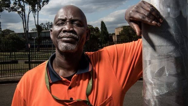 "Cleaner Arou Akot said he needed a ""job guarantee"" - otherwise he would be homeless."